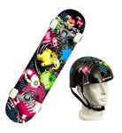 Custom Elephantasm Skateboard/Helmet combo pack