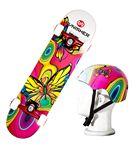 Custom Punisher Butterfly Jive Skateboard & Helmet combo pack