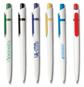 Cedar Retractable Plastic Pen