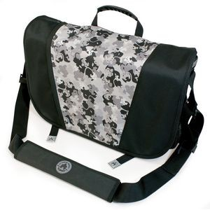 Sumo Messenger Bag - Black/Silver