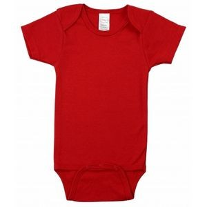 Red Short Sleeve Onezie