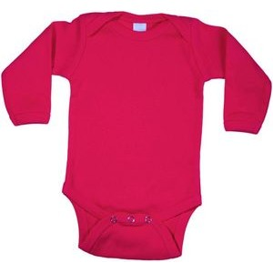 Hot Pink Long Sleeve Onezie