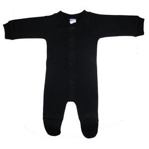 Black Interlock Sleep & Play
