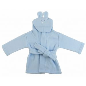 Custom Pastel Fleece Hooded Bath Robe (B, P, Y)