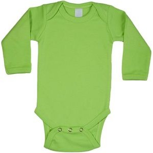 Lime Green Long Sleeve Onezie