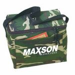 Custom Camo 6 Pack Poly Cooler Lunch Bag