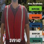 Custom Economy Red Mesh Safety Vest