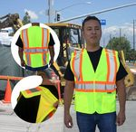 Custom Safety Vest 5 Point Breakaway ANSI Class 2