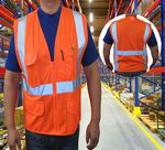 Custom FR Rated Safety Vest NFPA Class 2