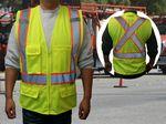 Custom Class 2 Safety Vest ANSI w/X Back Green