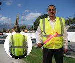 Custom Safety Vest ANSI Class 2 Neon Green Yellow