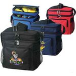 Custom Camper's Lunch Cooler Bag Has 2 Sperate Compartments