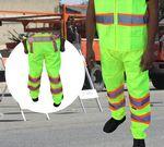 Custom Safety Pants ANSI Class E Neon Green