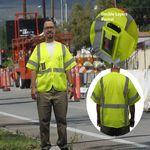 Custom ANSI Class 3 Safety Vest w/ Multiple Pockets