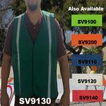Custom Economy Dark Green Mesh Safety Vest