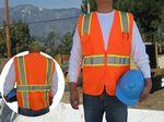 Custom ANSI 107-2015 Class 2 Safety Vest w/Pockets