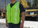 Custom Economy Polyester Solid Mesh Safety Vest