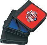 Custom Leatherette 24 CD DVD Disk Holder