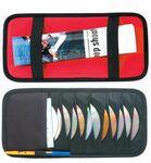 Custom Car Sun Visor 12 Capacity DVD/ CD Holder