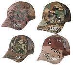 Custom Camouflage Cap w/ Mesh Back