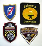 Custom 3 Inch Custom Embroidered Patch