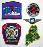 Custom 3.5 Inch Custom Embroidered Patch