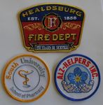 Custom 4.5 Inch Custom Embroidered Patch