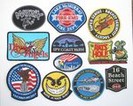 Custom 2.5 Inch Custom Embroidered Patch