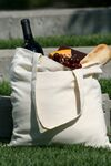 Custom Economical Cotton Tote Bag - Natural (15