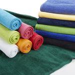 Custom Terry Velour Beach Towel - 30