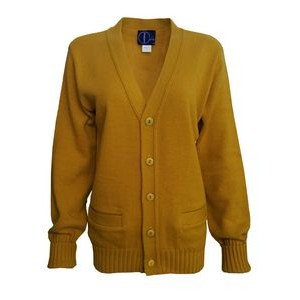 Letterman Award cardigan. Luxury heavy weight 5 button placket, welt pockets. Made in USA