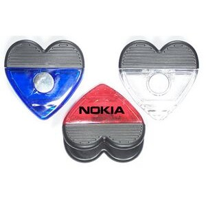 Jumbo Size Heart Magnetic Memo Clip with Strong Grip