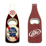 Custom Jumbo Size Beer Bottle Magnetic Bottle Opener