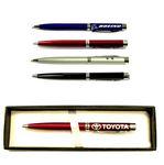 Custom 3-In-1 Ballpoint Pen with Laser Pointer & LED Flashlight in Gift Case