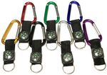 Custom Large Size 7 Cm Carabiner with Compass