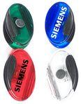 Custom Jumbo Size Sleek Oval Magnetic Memo Clip with Strong Grip