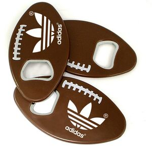 Jumbo Size Football Shape Magnetic Bottle Opener