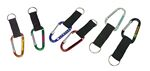 Custom Large Size 7 Cm Carabiner with Strap and Split Key Ring