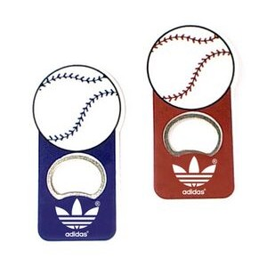 Jumbo Size Baseball Magnetic Bottle Opener