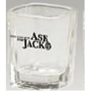 Jack Daniel's� Ask Jack Logo Square Shot Glass