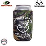 Custom Mossy Oak or Realtree Camo Premium Collapsible Foam Can Insulators