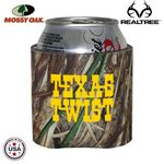 Custom Mossy Oak Camo Premium Collapsible Foam 8 Oz Mini Can Insulators