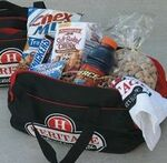 Custom Good Luck Duffle Bag w/ Food & Fitness Towel