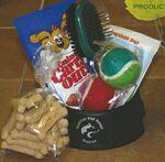 Custom Pet Version Dog Bowl Gift Basket