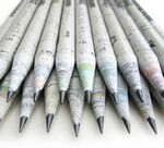 Custom TreeSmart Imprinted Newspaper Pencils