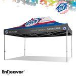Custom Endeavor 10' x 10' Full-Bleed Digital Professional Tent w/ Aluminum Frame