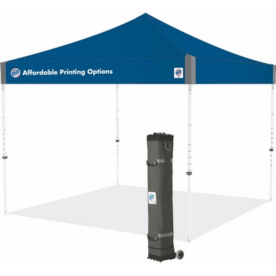 Pyramid™ 10 x 10 1 Color Imprint Tent w/ Steel Frame