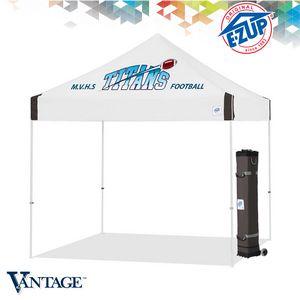 Vantage 10 x 10 1 Color Print Tent w/ Steel Frame