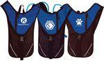 Custom Blue Hydration Pack