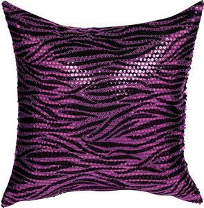 Zebra Sequin Pillow